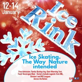 Ice Rink Video Invitation