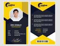 ID Design Template Løbeseddel (US Letter)