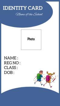 Identity Card template