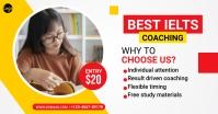 IELTS Coaching Facebook Ad template