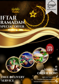 iftar A4 template