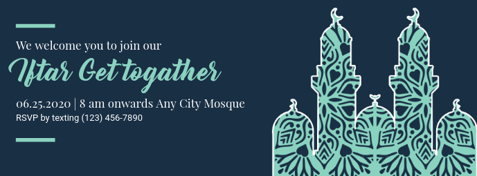 Iftar Get Together Facebook Cover Template
