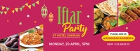 Iftar Party Facebook Cover template