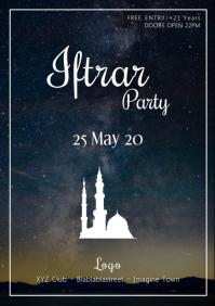 Iftar Party Ramadan Eid Mubarak Event Advert