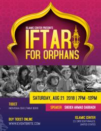 Iftar Ramadan for Orphans Iflaya (Incwadi ye-US) template