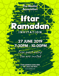 Customizable design templates for iftar postermywall iftar ramadan flyer stopboris Gallery