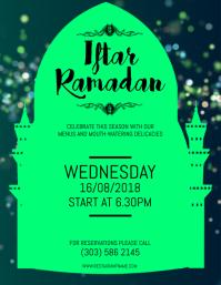 Iftar Ramadan Flyer