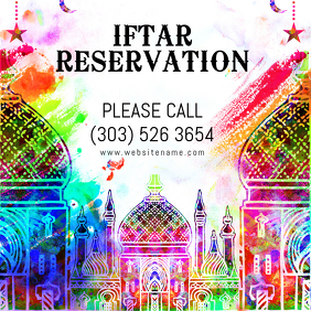 Iftar Reservation