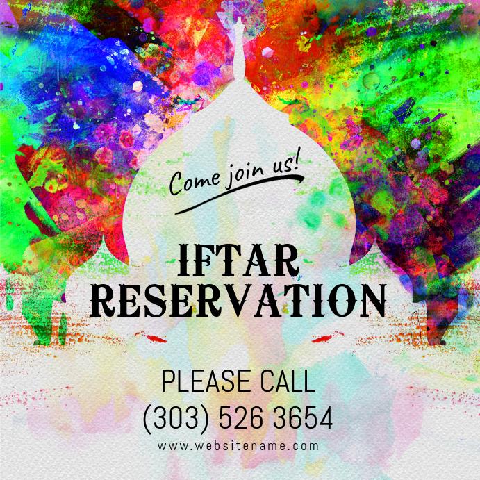 Iftar Reservation