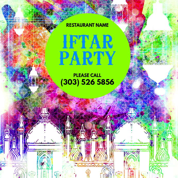 Iftar Party Instagram