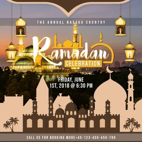 Iftari Reception Invite Template