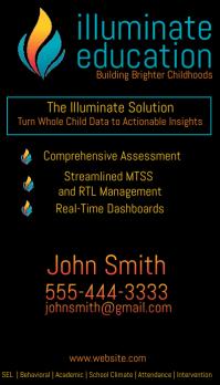 Illuminate Business Card