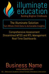 Illuminate Education Poster