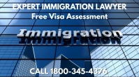 Immigration Services Video Template Pantalla Digital (16:9)