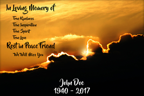 Customizable Design Templates for In Loving Memory | PosterMyWall