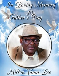 In Loving Memory on Father's Day Flyer (US Letter) template