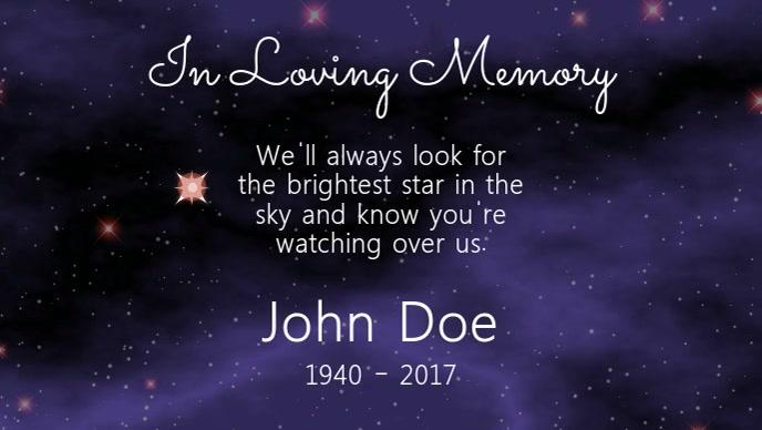 In Loving Memory Video