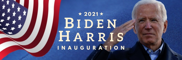 Inauguration Day 2021 Banner Template