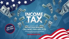 Income Tax office Banner Ad