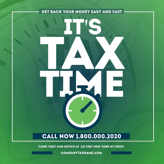 Income Tax Prep Services TIME Instagram Video