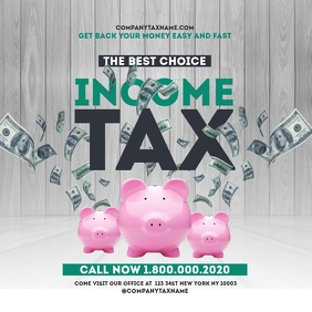 income tax refund instagram Templates