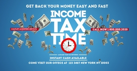 Income Tax TIME Facebook Flyer Template