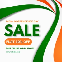 Independence day,15 august,event Square (1:1) template