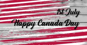 Independence day,event, canada day,retail Facebook Shared Image template