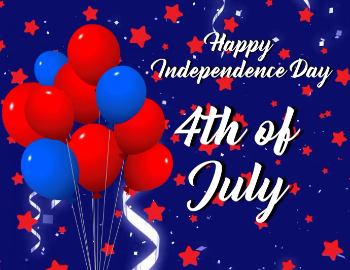 Independence day,event,4th of July,retail Pamflet (Letter AS) template