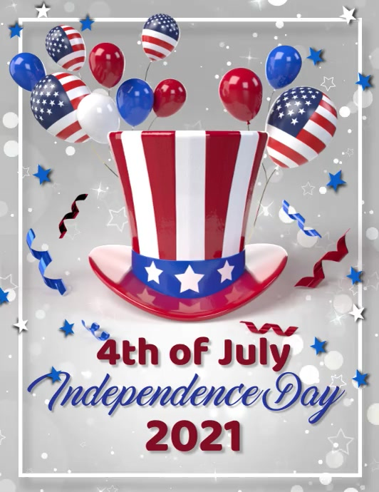 Independence day,event,president's day Pamflet (Letter AS) template