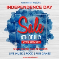 Independence day,event,4th of July,retail Square (1:1) template