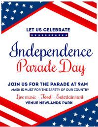 independence day,memorial day, veterans day Iflaya (Incwadi ye-US) template