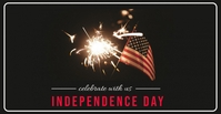 Independence Day CELEBRATION 4th july Facebook-Veranstaltungscover template