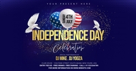 independence Day Celebration ads Facebook-Anzeige template