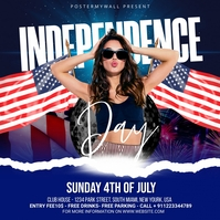 Independence Day Celebration ads Instagram Post template