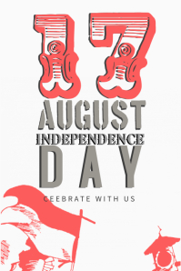 Independence Day Celebration Poster Template