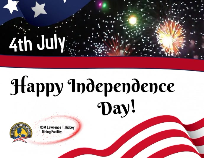 Independence Day Pamflet (Letter AS) template