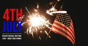 independence day Facebook Event Cover template