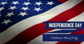 Independence Day Copertina evento Facebook template