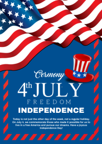 INDEPENDENCE DAY A4 template