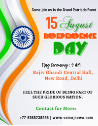 independence day Flyer (US Letter) template