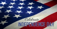 Independence Day Facebook-gebeurtenisomslag template