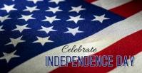 Independence Day Facebook-Veranstaltungscover template
