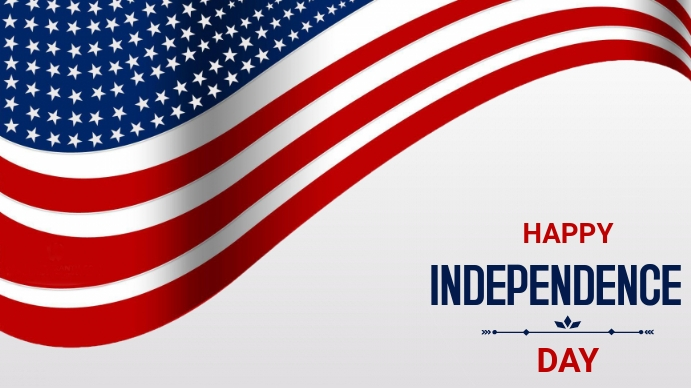 Independence day Twitch Banner template