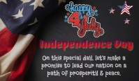 Independence Day Label template