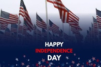 Independence Day Banner 4 × 6 Fuß template