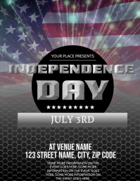 Independence Day event Flyer Template