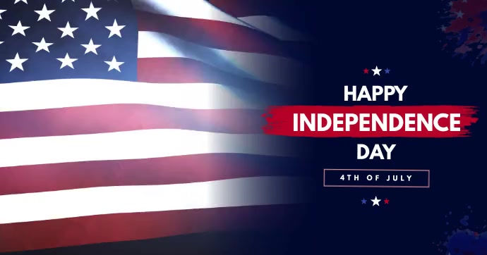 Independence Day facebook post template