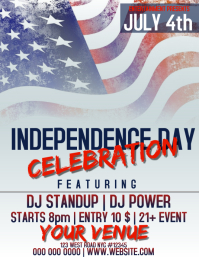 INDEPENDENCE DAY FLYER