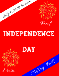 4th of July Independence Day Poster
